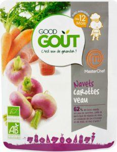 nourriture bébé good-gout-navets-carottes-veau-bio