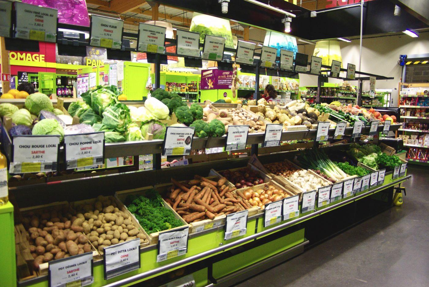 Le fenouil biocoop ruaudin magasin bio pr s du circuit for Decathlon le mans sud ruaudin ruaudin
