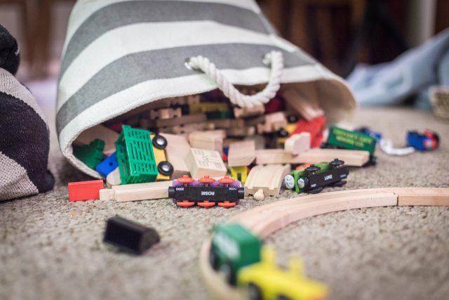 Grande collecte de jouets pour enfants