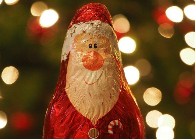 Dégustation gratuite : oh le grand Père Noël en chocolat !