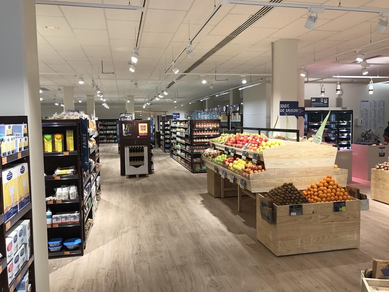 fenouil biocoop magasin bio le mans visite guidee atlantides janvier 2019