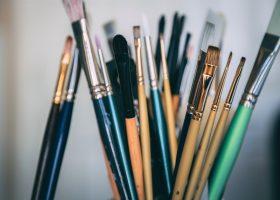 Activités créatives : peinture au blanc de Meudon