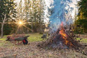 Formation brûlage des déchets verts