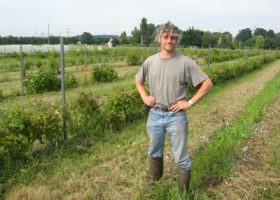 Jean-Marc Coulon, fruits rouges bio