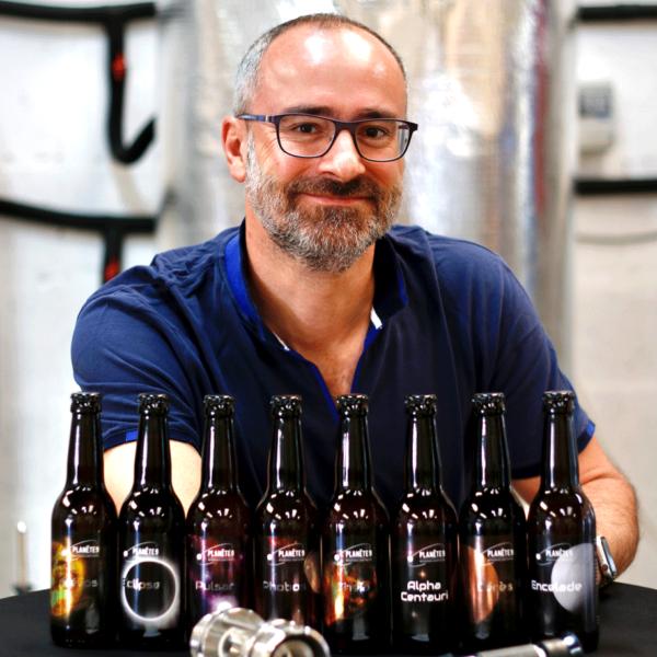 Bières bio Planète 9 de Christian Luiggi