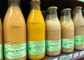 Sylvie Chevalier, soupes de légumes et conserves de fruits bio