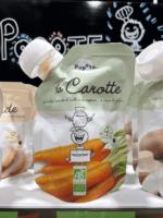 Popote, des gourdes pour bébé de fruits, légumes et viandes bio