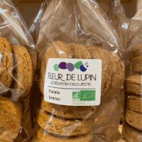Fleur de Lupin, biscuits et pâtisseries bio naturellement sans gluten